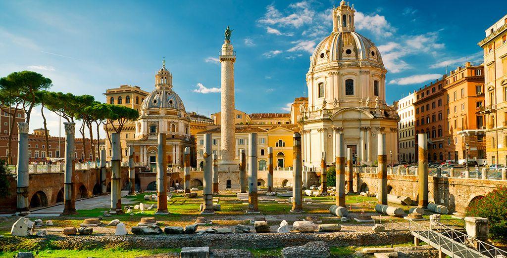 Entdecken Sie das Forum Romanum während Ihres Urlaubs in Rom