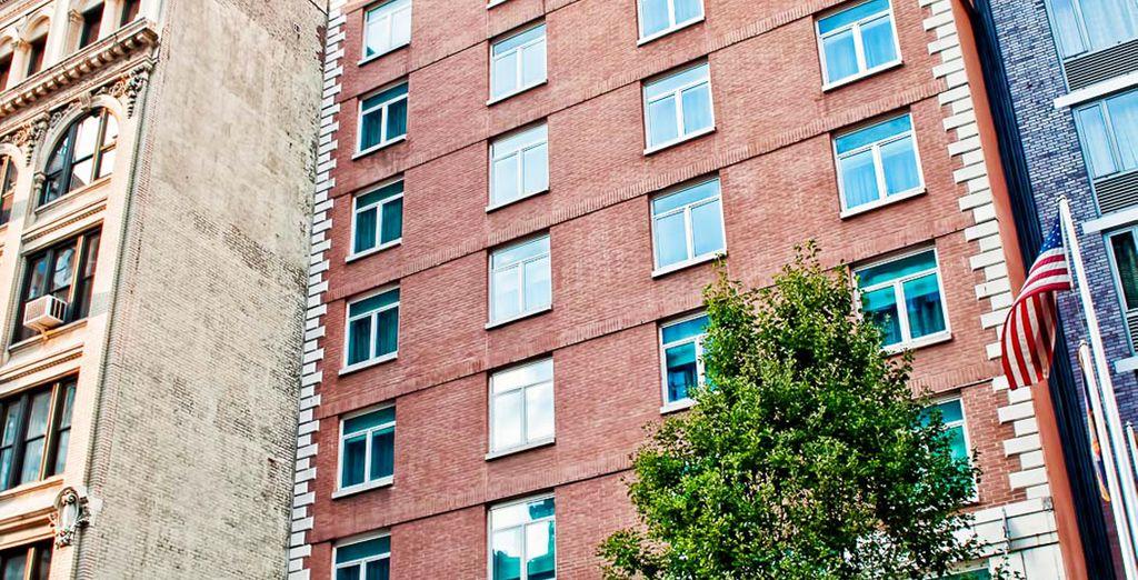 Sie wohnen im Hotel Hayden 4*...
