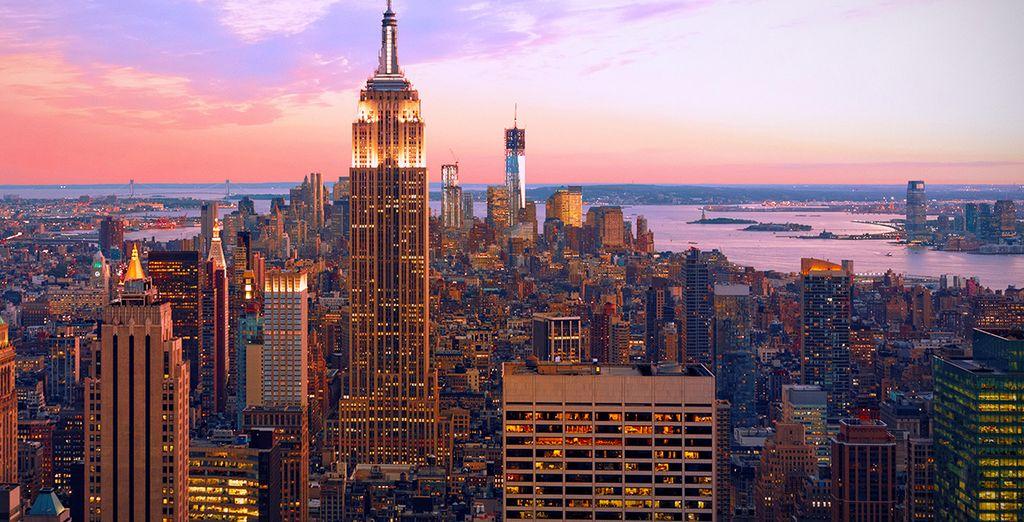 Die Reise beginnt in New York