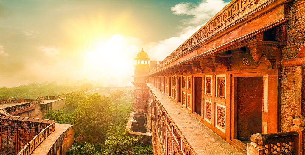 Von Agra aus sind Sie 7 Nächte unterwegs