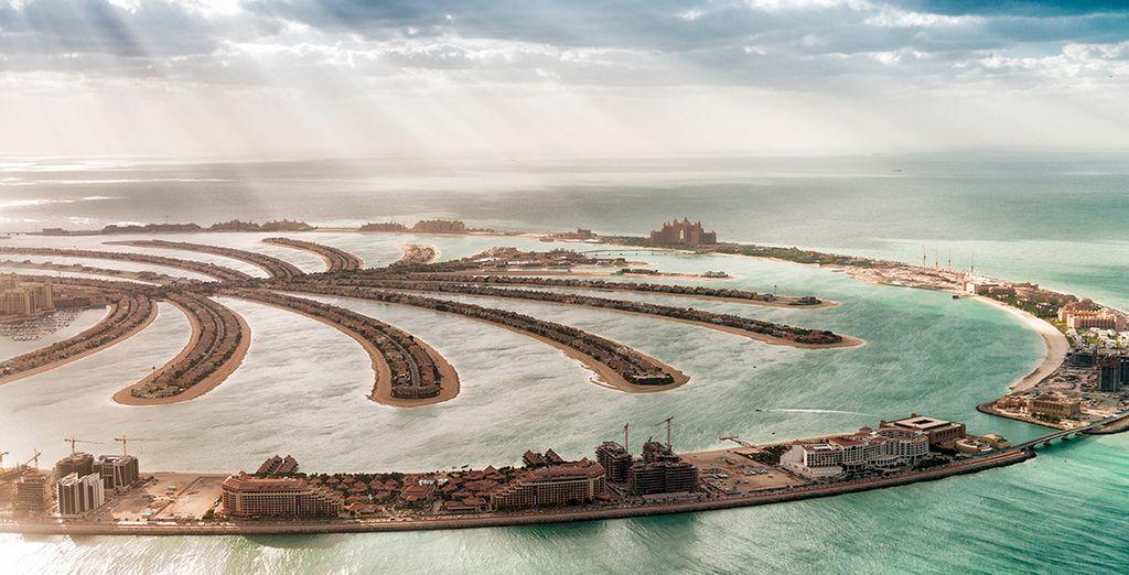 Entdecken Sie die außergewöhnliche künstliche Insel Palm Jumeirah