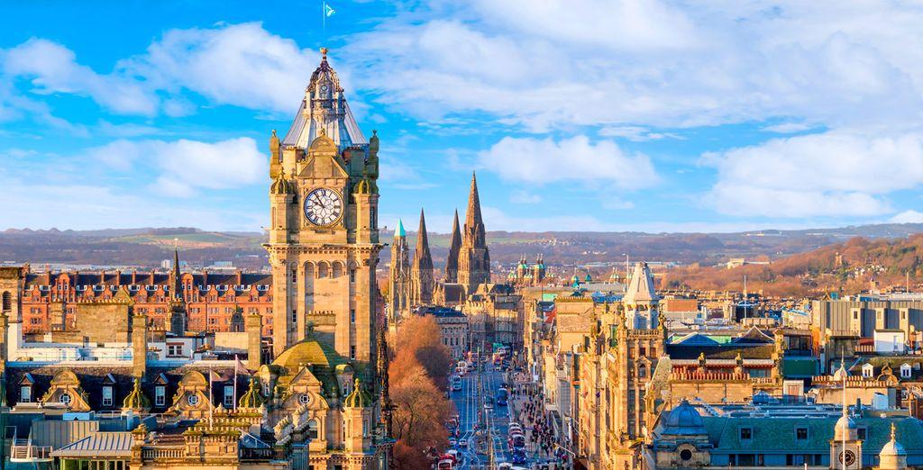 Besuchen Sie Edinburgh und seine Umgebung mit Voyage Privé