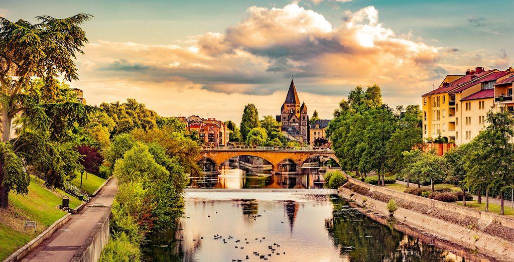 Entdecken Sie Metz und sein kulturelles Erbe