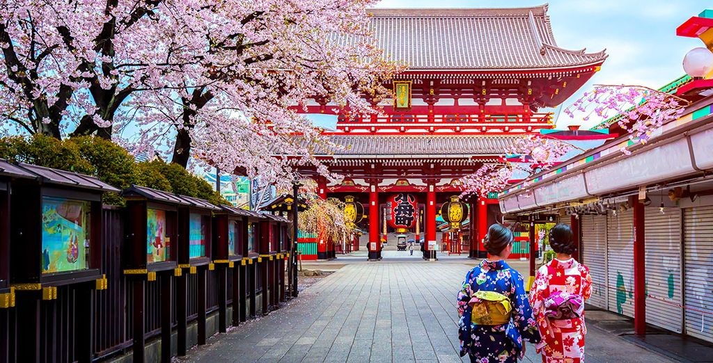 Kombireise Kultur-Highlights und Wellness in Japan