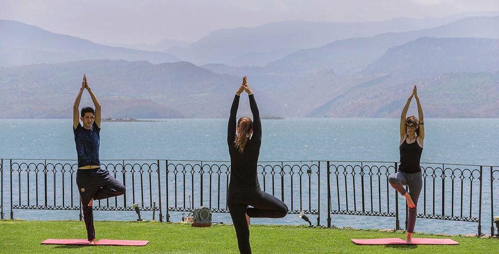 Halten Sie sich mit etwas Yoga fit und beweglich