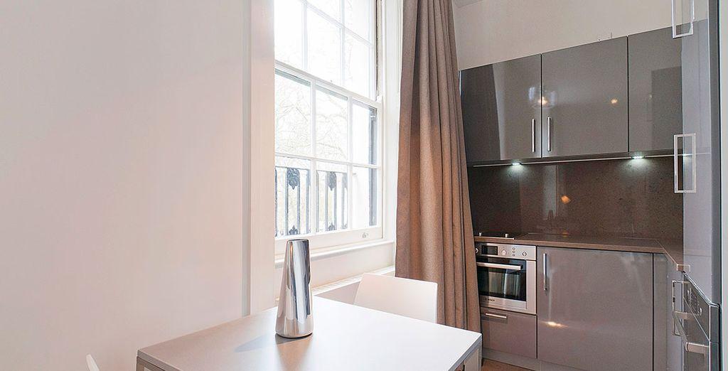 ... in Ihrem eleganten und modern eingerichteten Apartment