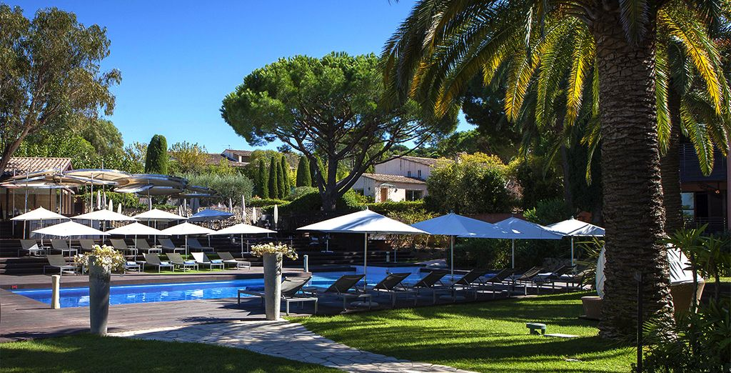 Das Hotel Benkiraï 4* befindet sich in der berühmten Gegend von Saint-Tropez