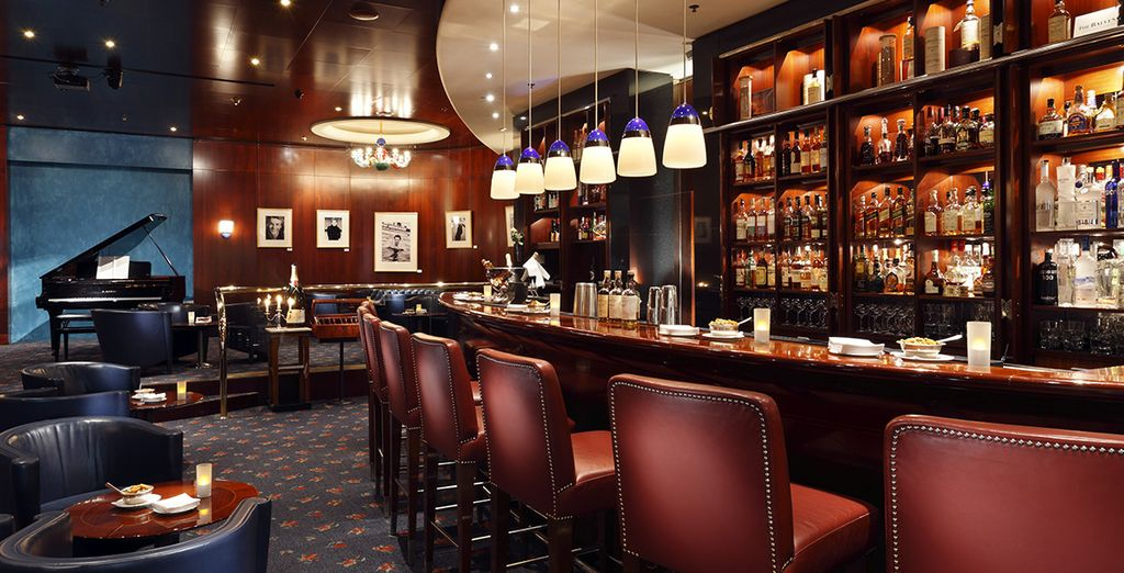 Die elegante Bar