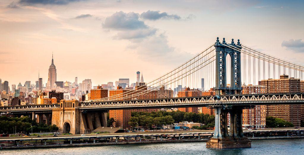 Überqueren Sie die Brücke ins trendige Brooklyn