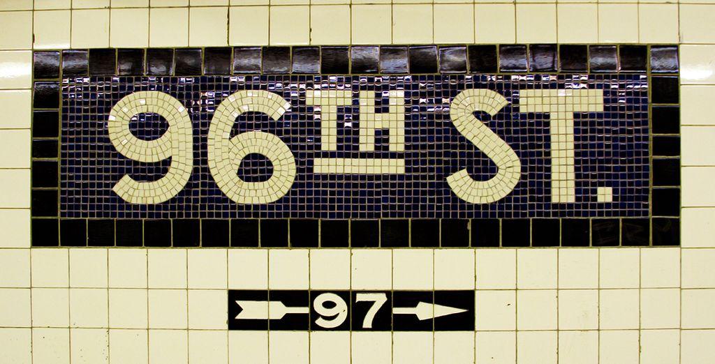 Nehmen Sie die nächste U-Bahn, die eine der ursprünglichen Linien ist