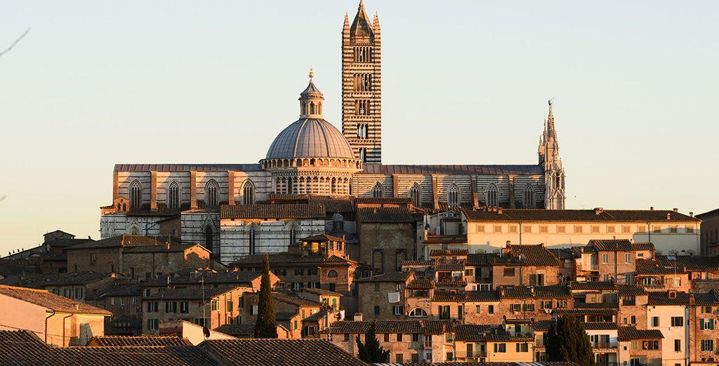 Entdecken Sie Siena...