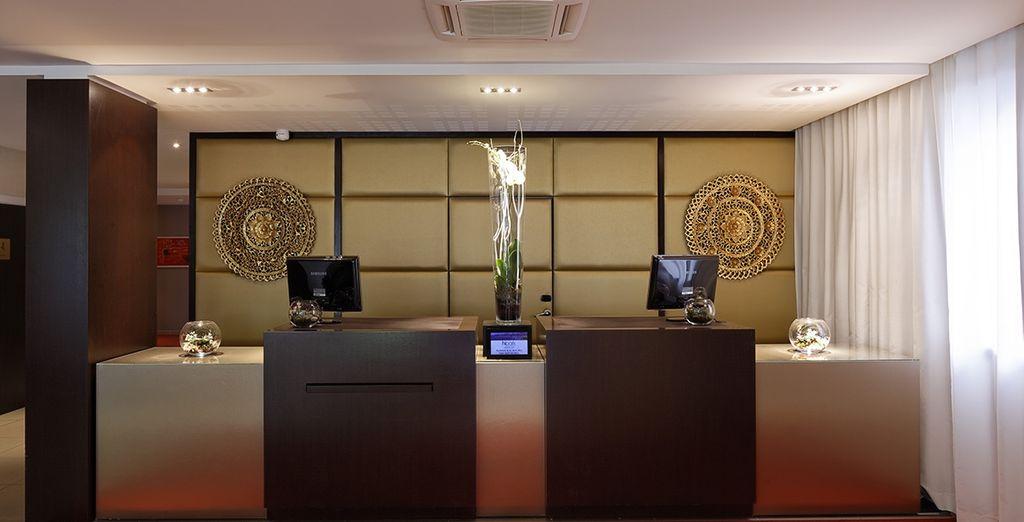 Das Design Suites Hipark Nice begrüßt Sie ganz herzlich