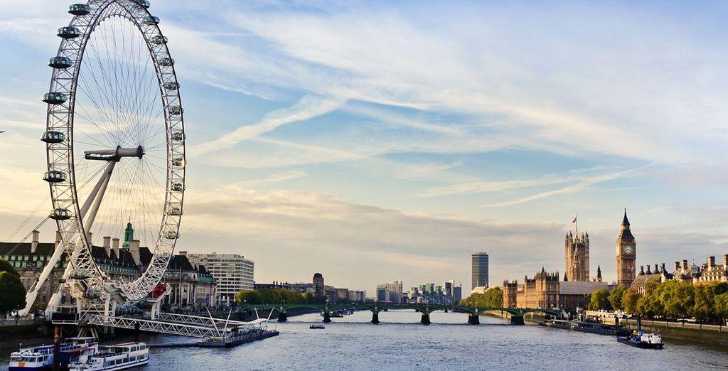 Herzlich willkommen in London!