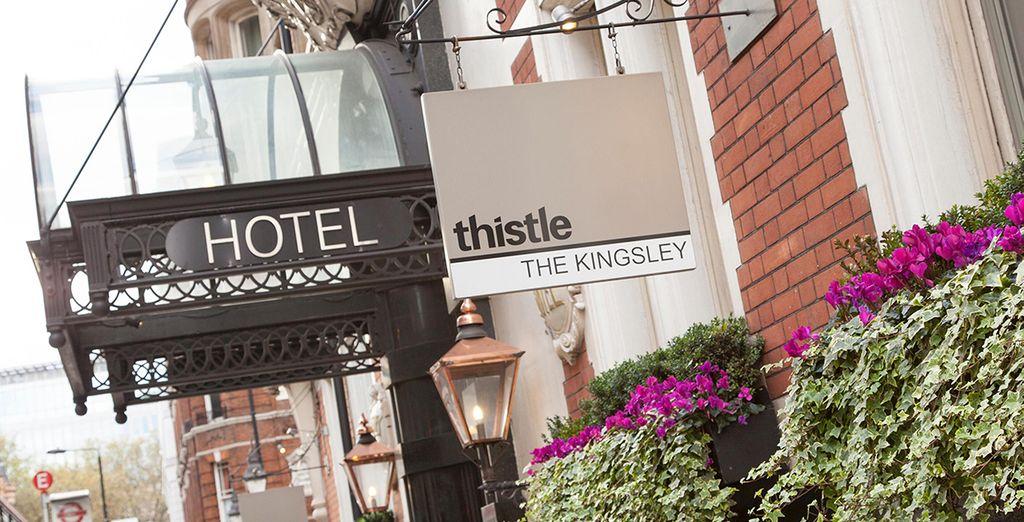 Willkommen im eleganten und raffinierten Thistle Holborn The Kingsley!