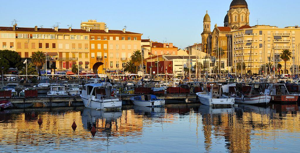Sainte-Maxime ist voller Charme