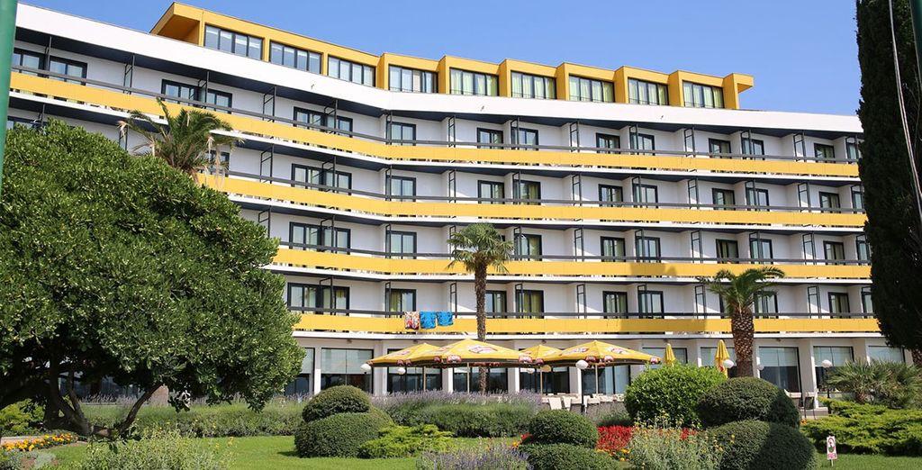 Im Hotel Ilirija 4*