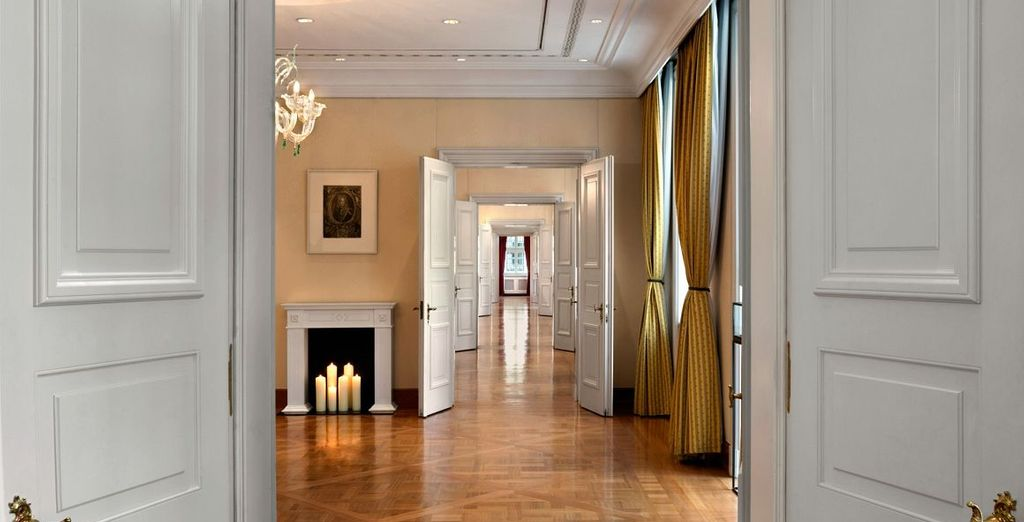 Ein elegantes Hotel