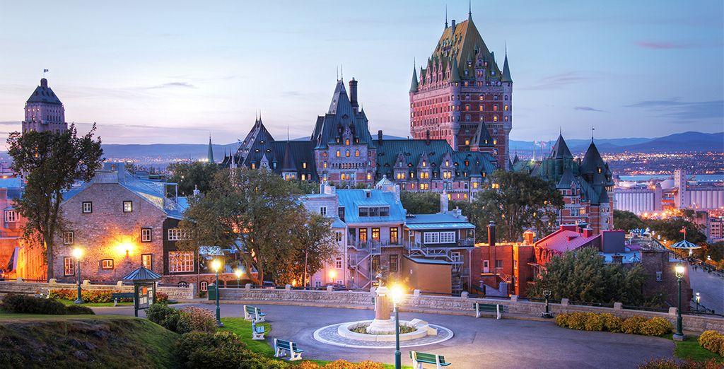 Spazieren Sie durch die Altstadt Québecs