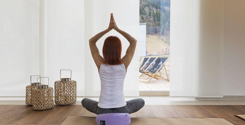 Yogakurse sind für Sie inklusive