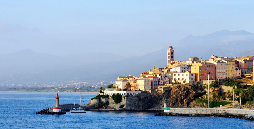 Entdecken Sie Korsika...
