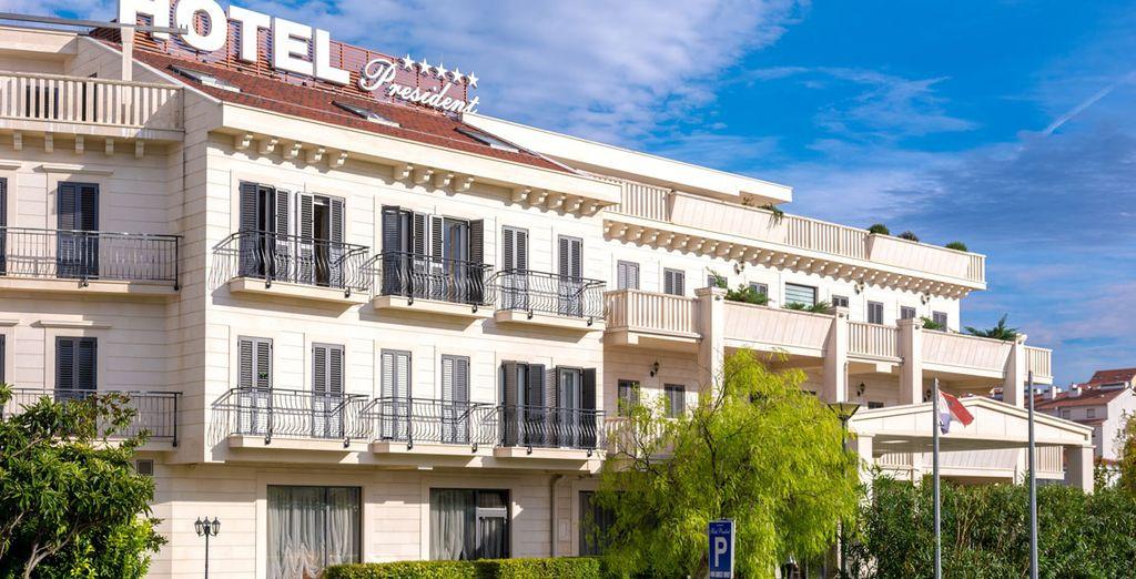 Ein wunderschönes Hotel