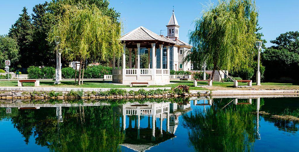 Solin, eine Stadt der romantischen Schönheit