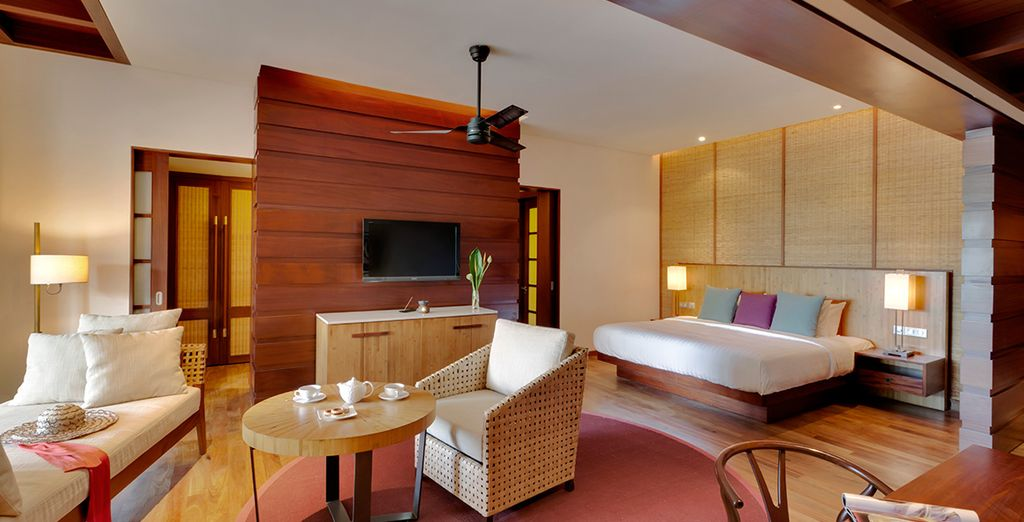 Wählen Sie eine elegante Deluxe Pool Suite
