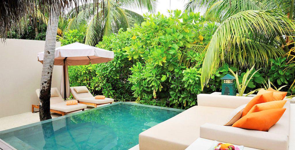 Erfrischen Sie sich in Ihrem privaten Pool