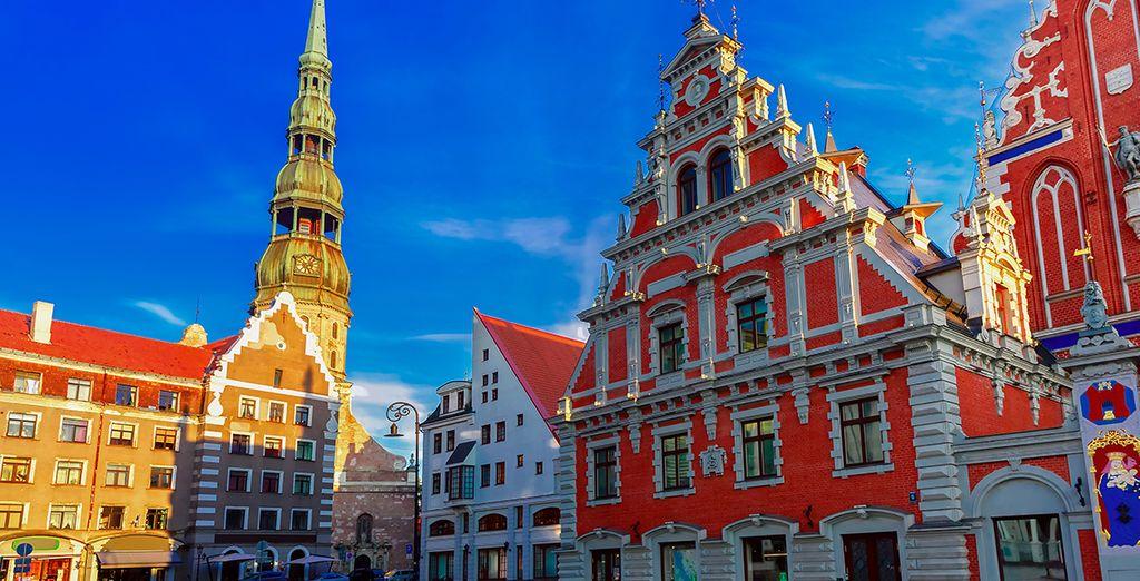 Die lettische Hauptstadt Riga erwartet Sie!
