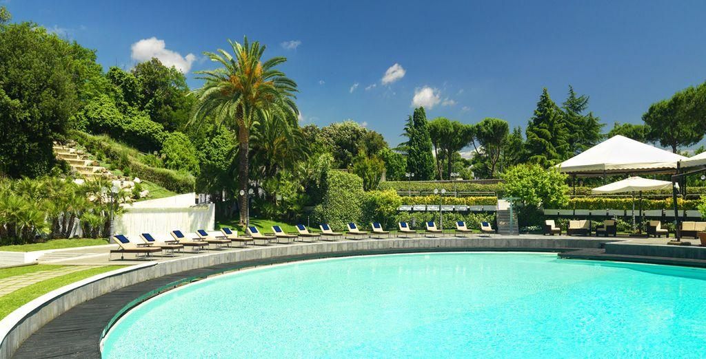 Willkommen im Sheraton Roma Hotel 4*!