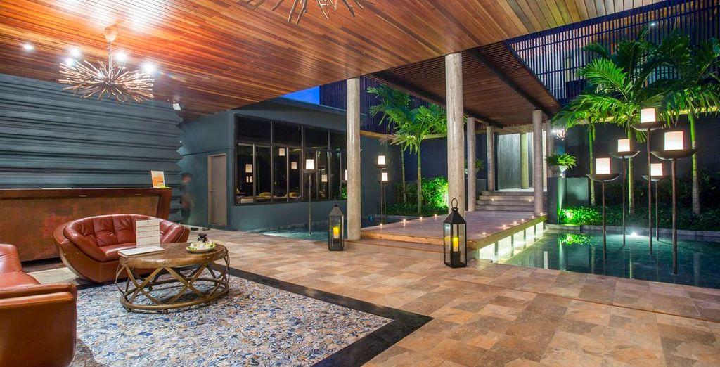Ein toll designtes und raffiniertes Hotel