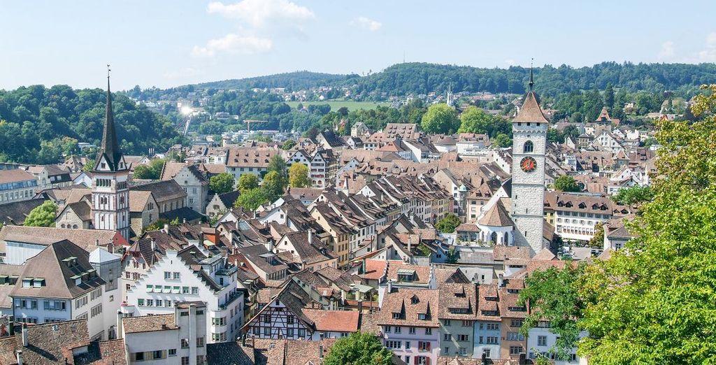 Entdecken Sie die idyllisch gelegene Stadt mit ihren vielzähligen Sehenswürdigkeiten