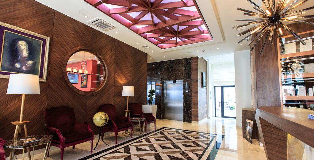 Ein 4* Hotel modern, elegant und raffiniert ...