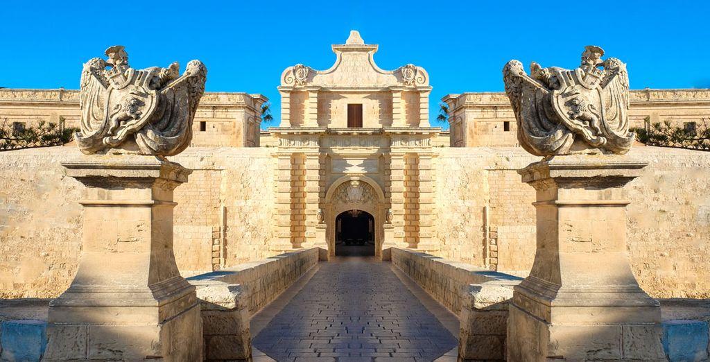 Medina Malta urlaub