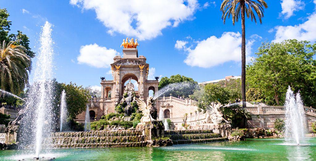 Oder der Ciutadella Park
