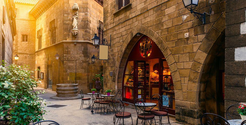 Auch das gotische Viertel ist immer einen Besuch wert