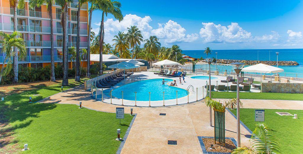 Sie übernachten im Karibea Beach Hotel Le Salako