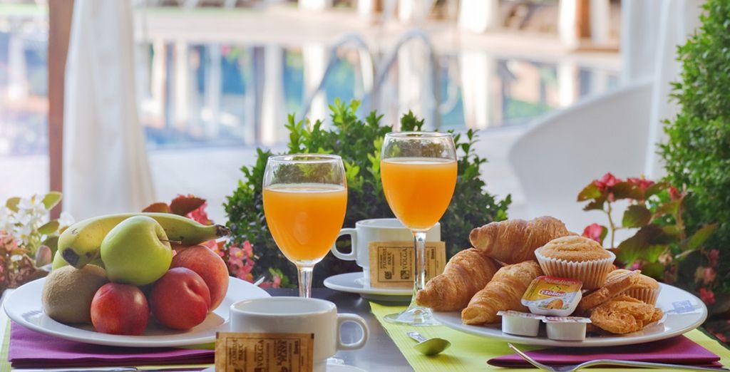 Beginnen Sie den Tag mit einem leckeren Frühstück