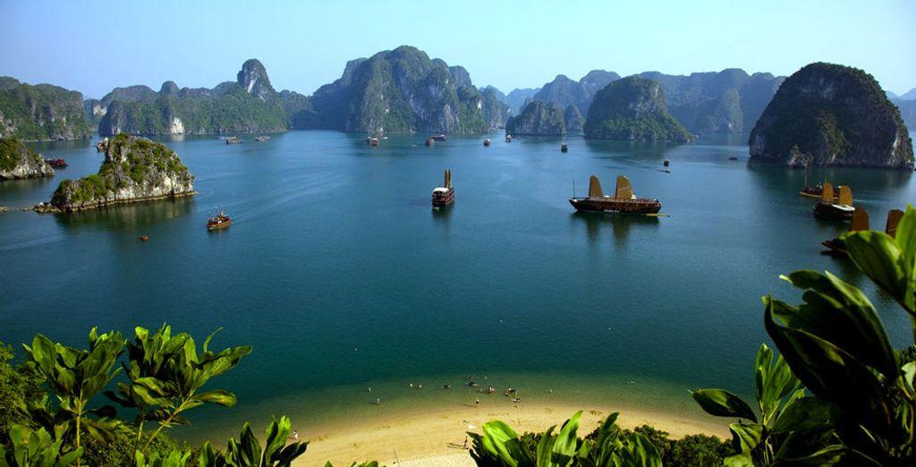 Die atemberaubende Ha Long Bay