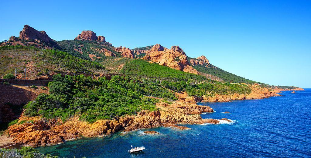 Willkommen in Cap Esterel!