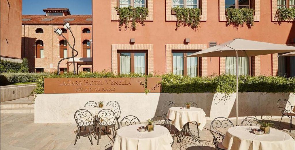 Sie übernachten im Hotel LaGare Venezia