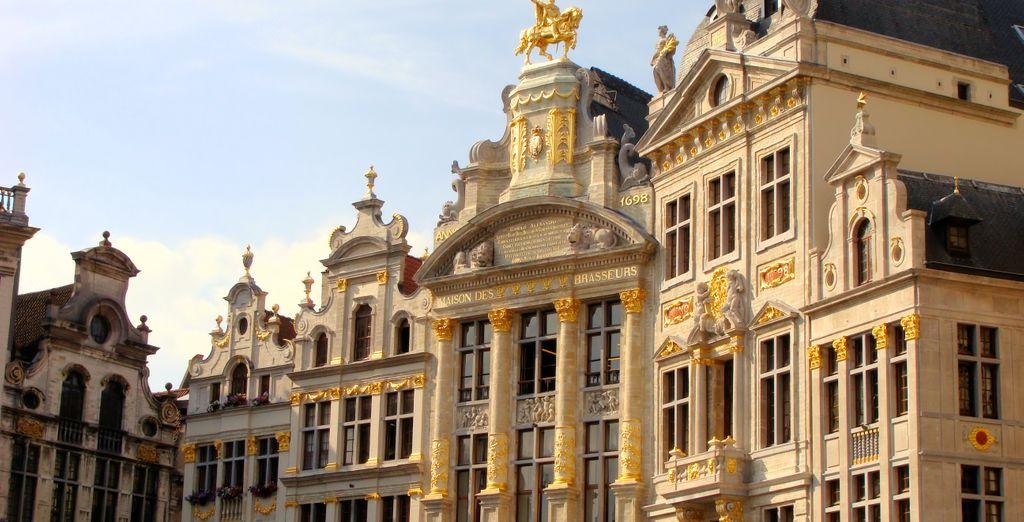 ... und einen interessanten Mix aus Architekturstilen