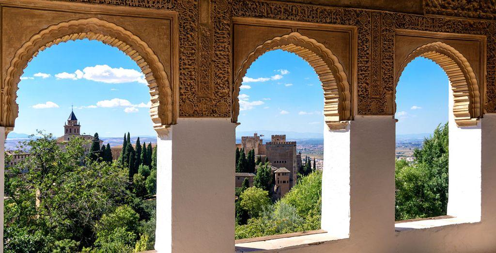 Oder fahren Sie nach Granada!