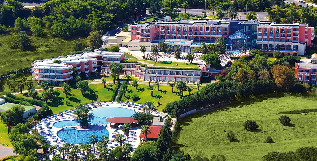 Das 4* Hotel Kresten Palace wartet auf Sie