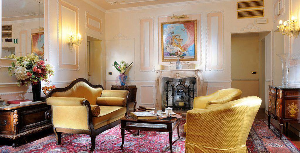 ...im romantischen Ca' Dei Conti Hotel!