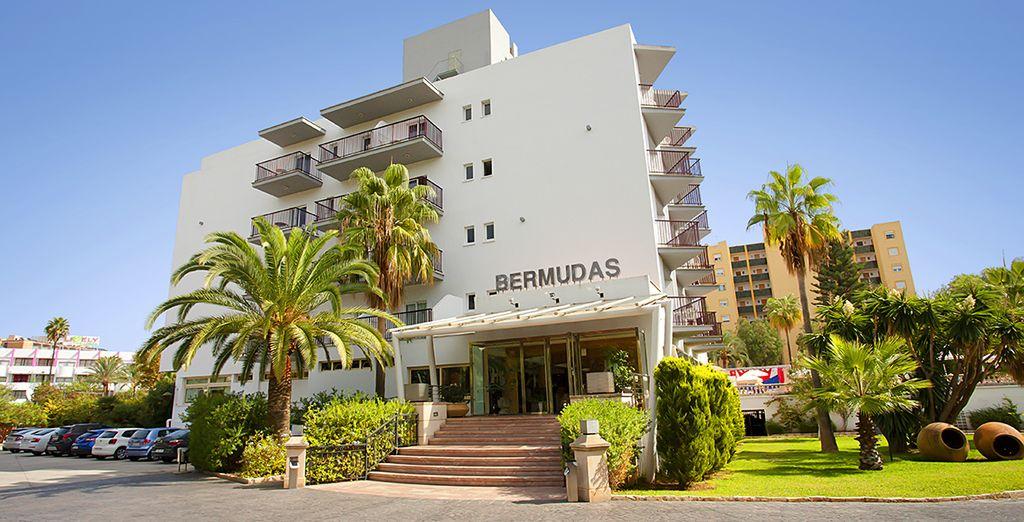 Das Hotel Fergus Bermudas 4* wartet schon auf Sie...