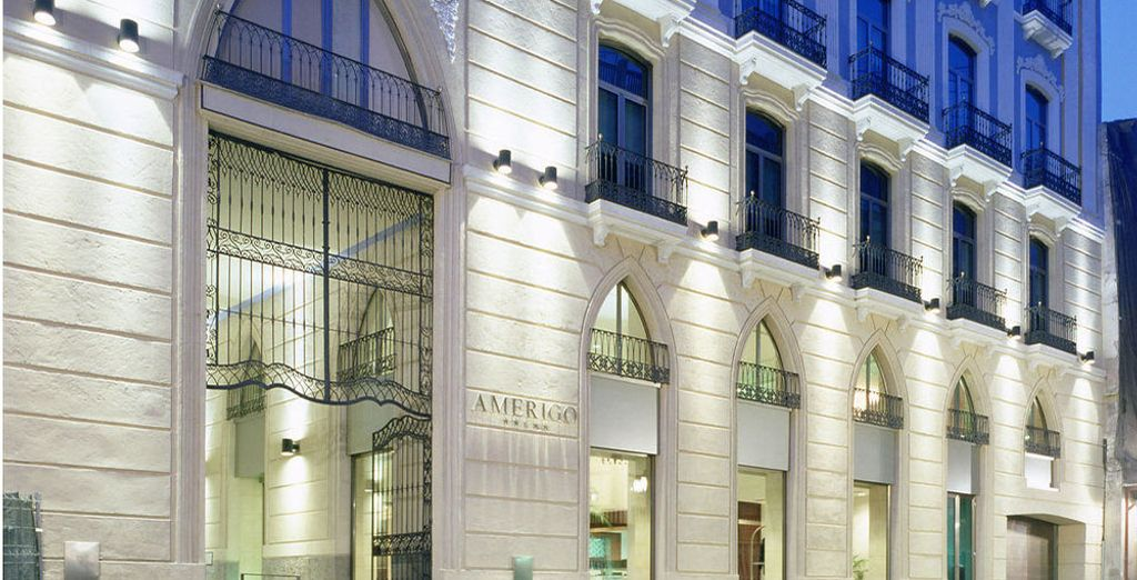 Willkommen im Hotel Hospes Amérigo 5*