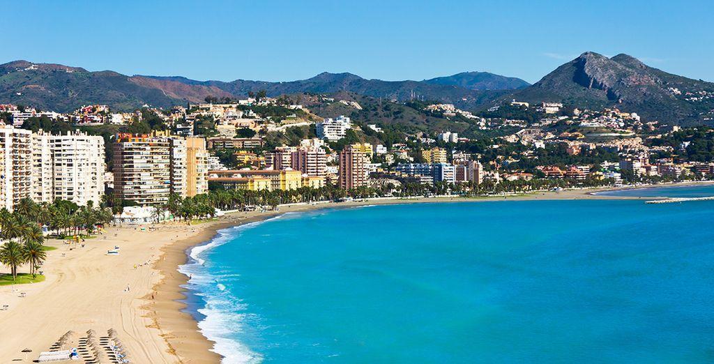Bestaunen Sie die Schönheit von Malaga... Wir wünschen einen schönen Aufenthalt!