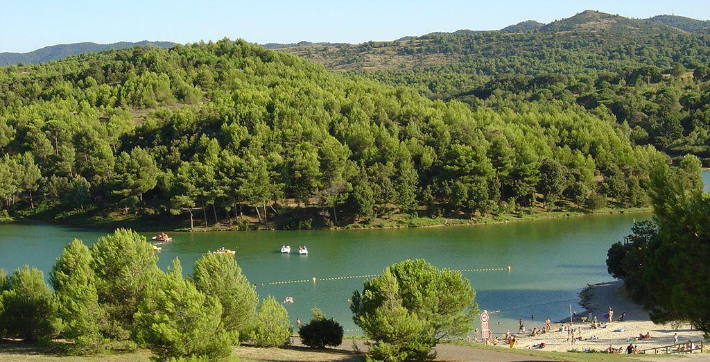 Unternehmen Sie einen Ausflug zum See de Cavayère