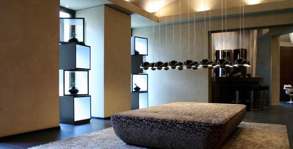 Ein modernes Hotel